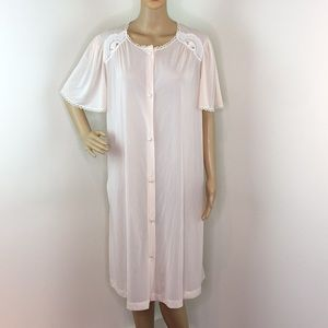 Vintage Pink Nightgown/Robe